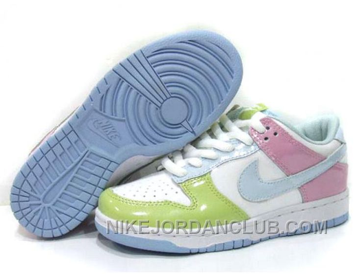 womens nike dunk blue green