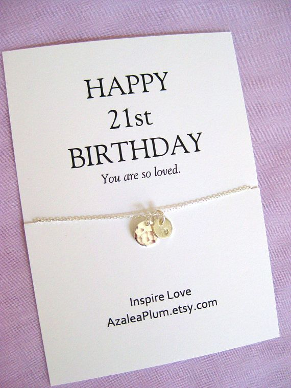 Personalised 21st Birthday Gift For Her Personalized