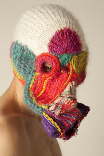 li edelkoort & mohair south africa: Gas Masks, That Edelkoort, Mohair South, South Africa, Craft Reinvented, Has, Textile Art, Crafts