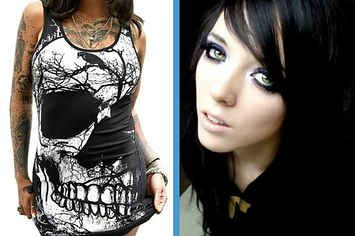 """Shop At Hot Topic And We'll Tell You What Type Of Emo You AreYou What Type Of Emo You AreYou got: The Tumblr-Tyler-Joseph is My Dad Emo  This is the newest form of emo, most common among young teens. Your favorite musicians are Twenty One Pilots, Panic! At the Disco, Melanie Martinez, and Halsey. You like to say things like """"cringe"""" and """"omg dad!!"""". You also probably have a music lyric in your bio."""