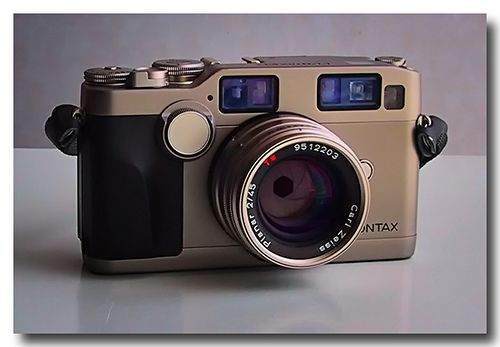 Contax G2.  A great, great rangefinder camera that is not a Leica.  The Zeiss glass is nice too!
