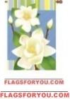 1 left- Sweet Magnolia Garden Flag