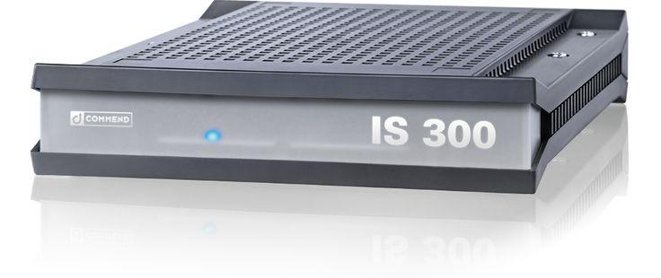 Commend IS-300. Telefon központ szerver, az egész parkolóra kiterjedő, segélykérő telefon hálózat üzemeltetéséhez.