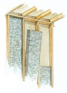 7 Insulation Tips to Save Money & Energy | Old House Online - use loose fill insulation treated w/ borates rather than sulfates.