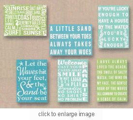 LOVE these beach quotes!
