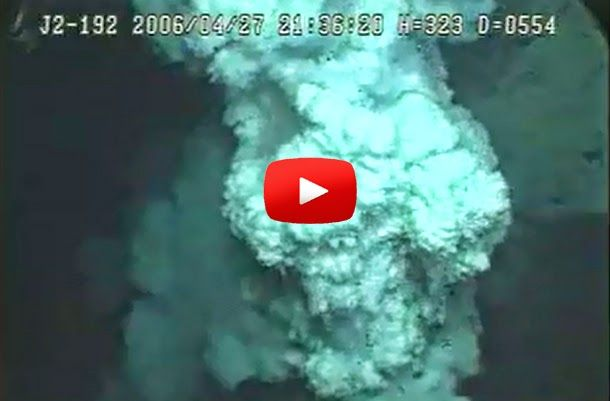 "Underwater Volcano Eruption ""Video"" 