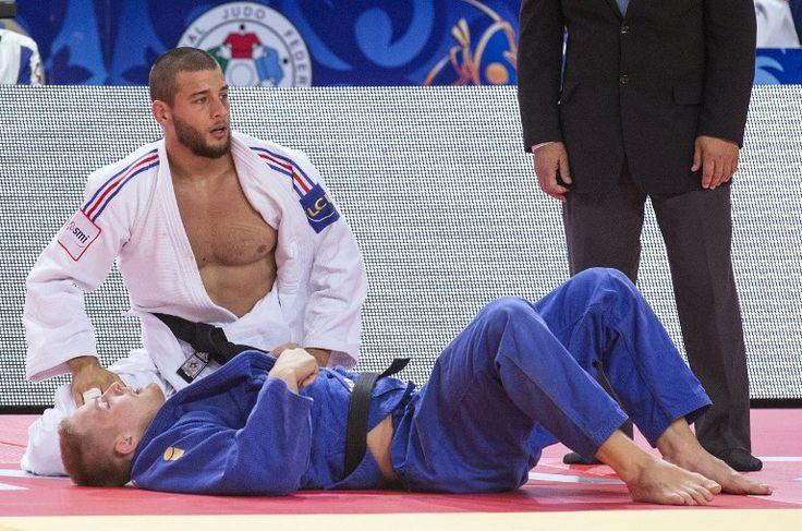 Alexandre Iddir (-90 kg) aux championnats du monde 2015 à Astana