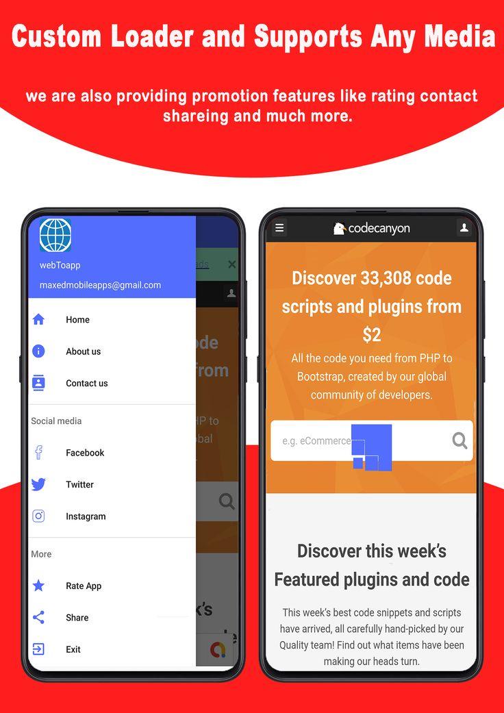 Android app making websites Wonderful