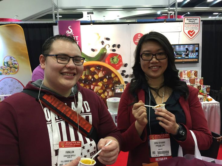 [Day 3] These guys are Rockin' the Moroccan! #rockinthemoroccan #WFFS15 #WinterFancyFoodShow2015! #SmartSoup