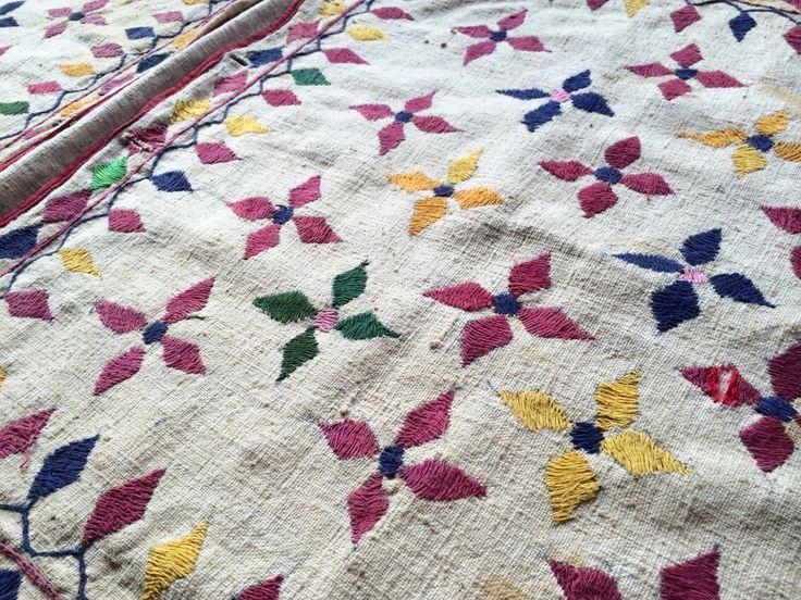 VINTAGE GUJURATI DONKEY BAG from www.thesilkroadshop.bigcartel.com  bohemian home decor global homewares travel boheme india indian vintage textiles interiors wall art wearable art