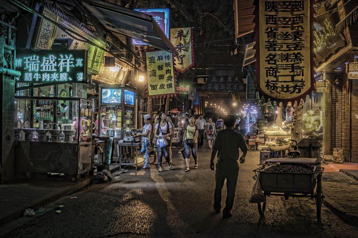 Barrio Musulmán China Xi An - null