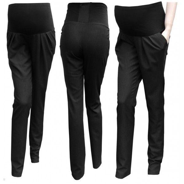 Tehotenské nohavice Korfi čierne - GREGX