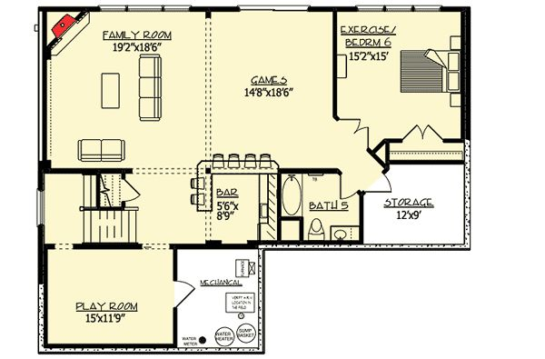 Plan 73327hs distinctive craftsman dream home plan 2nd for 221 armstrong floor plans