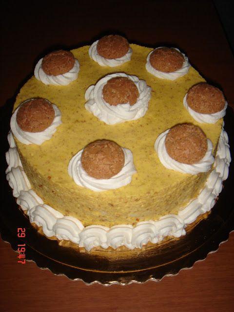 vaniglia e cioccolato: Semifreddo tiramisù agli amaretti