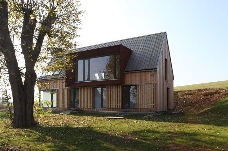 Деревенские дома: проекты в чешских архитектурных традициях от PRODESI
