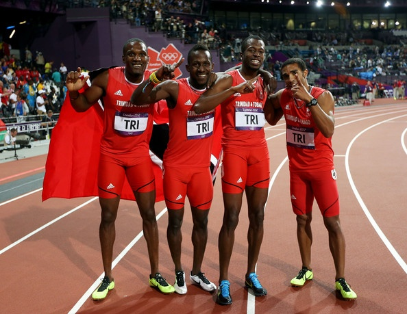 Lalonde Gordon, Jarrin Solomon, Ade Alleyne - Forte, and Deon Lendore. Bronze medalist in Men's 4x400m relay in the 2012 Olympic Games