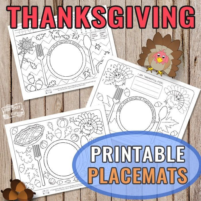 Thanksgiving Placemats To Color Thanksgiving Placemats Thanksgiving Placemats Preschool Thanksgiving Preschool