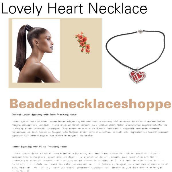 #jewelry #necklace #valentine #pendant necklace #women