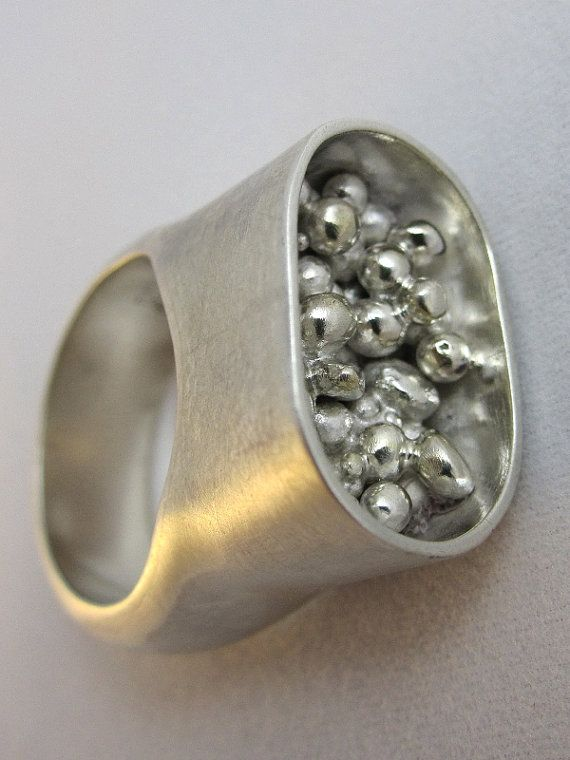 Sterling Silver Jewelry  Handmade Ring  by ChrisYoungJewelry