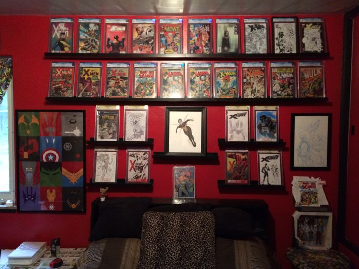 19 best Comic Room images on Pinterest | Comic room, Nerd room and ...