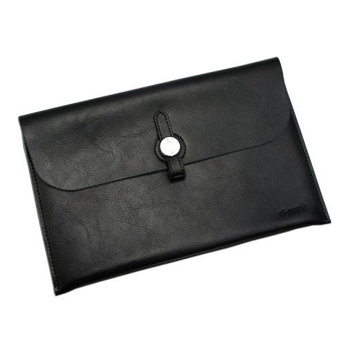 Gary & Ghost Samsung NOTE 8.0 / Google Nexus 7 FHD 2nd Gen/ Samsung Tab2 7-inch - Stylish Genuine Leather Envelope Carrying Case Sleeve with Fashionable Strap Buckle Closure (Black) by D-Park, http://www.amazon.co.uk/dp/B00IJUSZTQ/ref=cm_sw_r_pi_dp_Syjvtb1800V2J