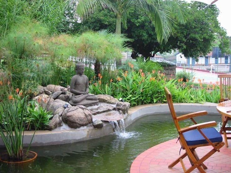 JARDIM ASIÁTICO-TROPICAL - FAZENDA CABREÚVA.: Jardins asiáticos por Eduardo Luppi Paisagismo Ltda.