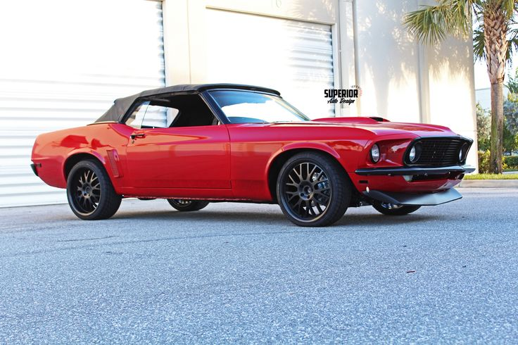 Custom 1969 Ford Mustang Restomod Convertible