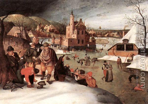 Winter 1607 by Abel Grimmer