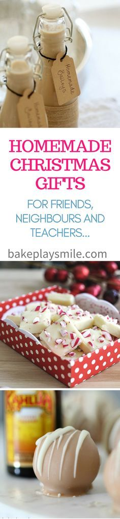 Best 25 homemade christmas gifts food ideas on pinterest 10 quick easy homemade christmas gifts for teachers friends neighbours forumfinder Gallery