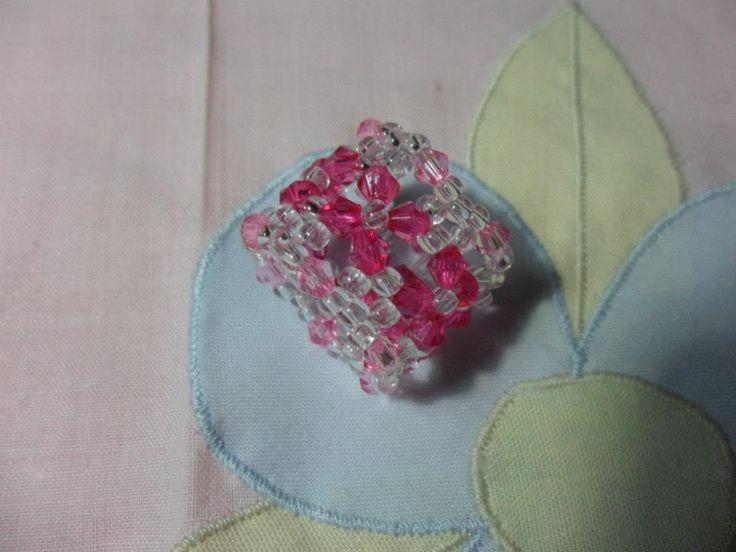 Anel rosa