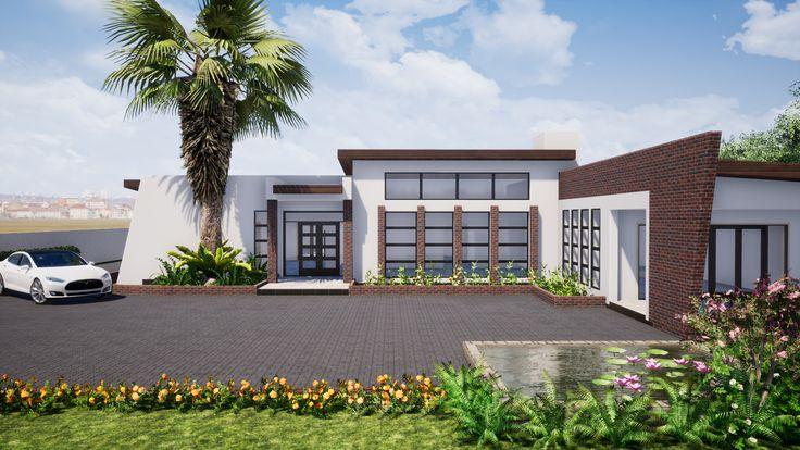Pomona Harare House House House Design House Styles Modern house designs zimbabwe