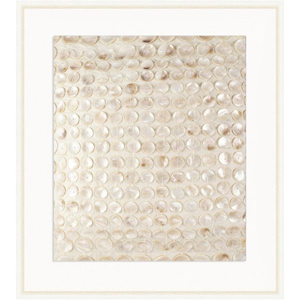 Bandhini design mother of pearl artwork 679 liked on polyvore featuring home home decor - Wall decoration with pearls ...