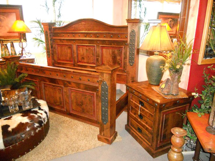 Durango Western Bedroom Set Western Furniture Mountain