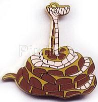 Disney's Kaa the snake from Jungle Book: Full Body  Pin/Pins