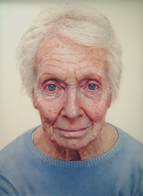 Sue Rubira - 'Maggie', 2008, oil on canvas, 76cm x 106cm
