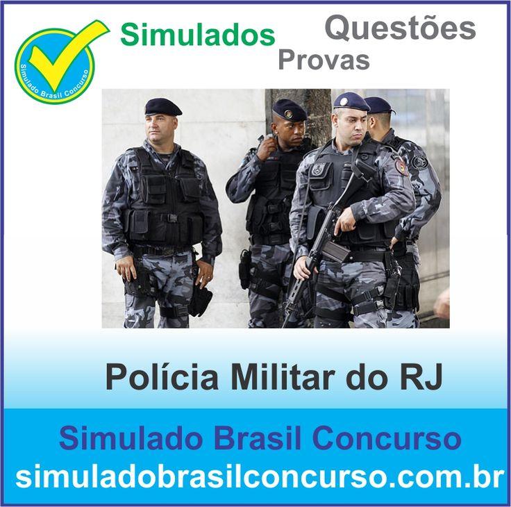 Boa noite Concurseiros, se você esta estudando para conquistar uma das mais de 6 mil vagas do concurso da Policia Militar do RJ, entre em nosso portal e aproveite os nossos novos simulados do Concurso da PM RJ 2013.  http://simuladobrasilconcurso.com.br/  Aproveite!!! Compartilhe!!! Curta!!!  Muito Obrigado e Bons Estudos, Simulado Brasil Concurso  #simuladobrasilconcurso, #simuladosPMRJ_SBC