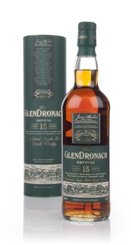 This 15 year old Glendronach marks the release of whisky under new distillery ownership. Matured in Oloroso sherry casks, this was awarded a Silver Medal at the 2009 Malt Maniacs Awards.