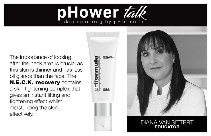 pHower talk skin coaching with pHformula. Your skin specialist will be able to pin point on which side you sleep just by looking at your neck area.  #pHowerTalk #Innovation #TalkonThursdays