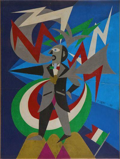 Filippo Tommaso Marinetti esponente del futurismo