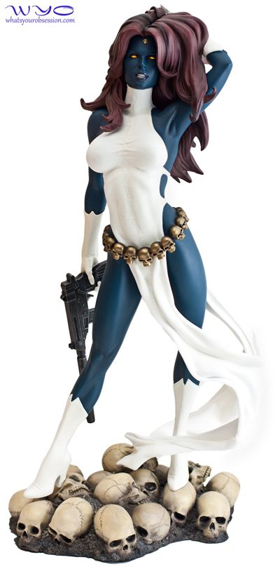Mystique. She's one of my favourites :)
