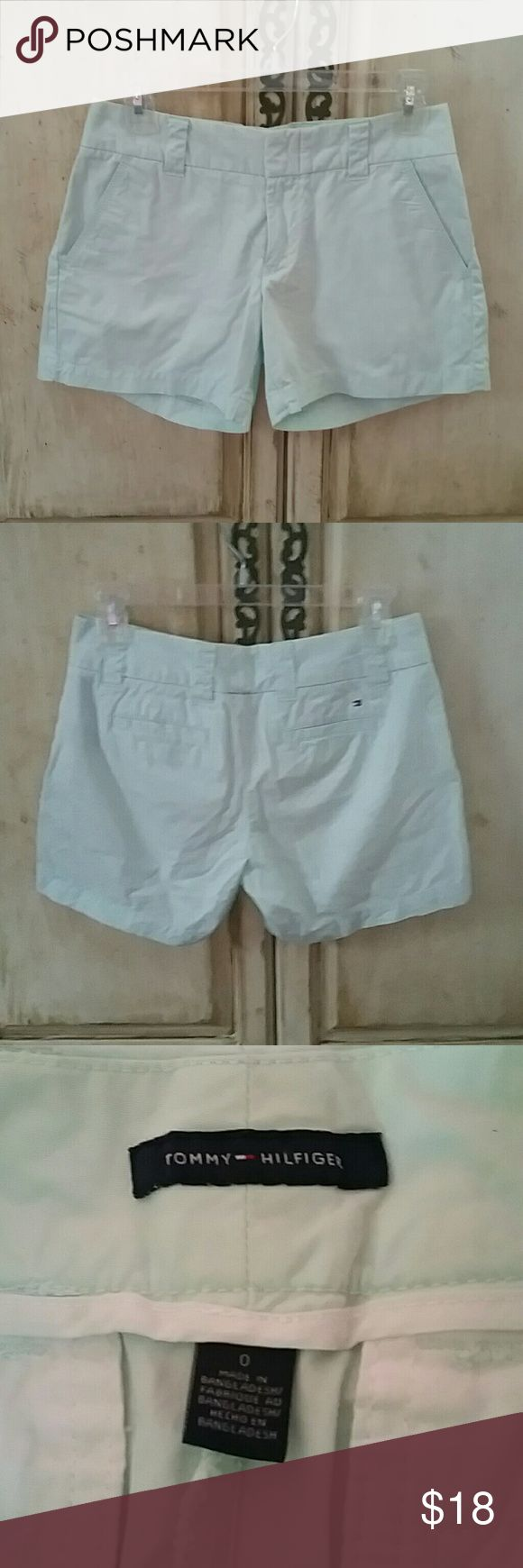 Tommy Hilfiger Mint shorts In very good condition mint shorts Tommy Hilfiger Shorts