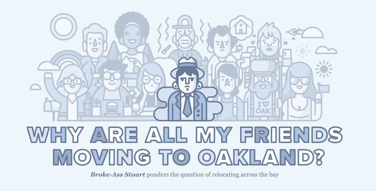 "Hah. San Francisco's The Bold Italic has created an Infographic ""Why Are All My Friends Moving to Oakland?"" but you have to click through to see the whole list."
