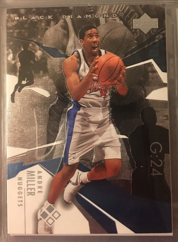 2003 Upper Deck Black Diamond Andre Miller 94 Nuggets Near Mint Combined s H | eBay