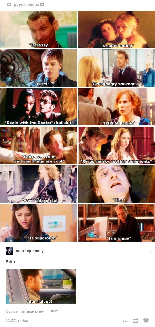 nine, ten, eleven, twelve, rory, clara oswald, river song, amy pond, martha jones, donna noble, jack harkness, rose tyler