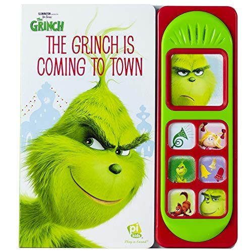 Dr Seuss The Grinch Is Coming To Town Sound Book Pi Https Www Amazon Com Dp 1503736482 Ref Cm Sw R Pi Dp Sound Book The Grinch Book Book Activities
