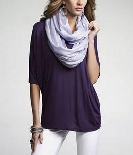 Sew Easy Infinity Scarf Tutorial