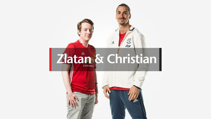 Video: Zlatan and Christian - Official Manchester United Website