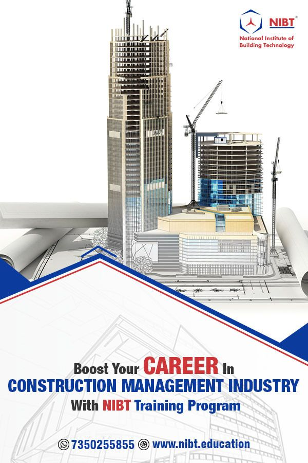 Do You Want To Boost Your Career In The Construction Industry With The Increasing Focus Of Constru In 2021 Construction Firm Construction Management Training Programs
