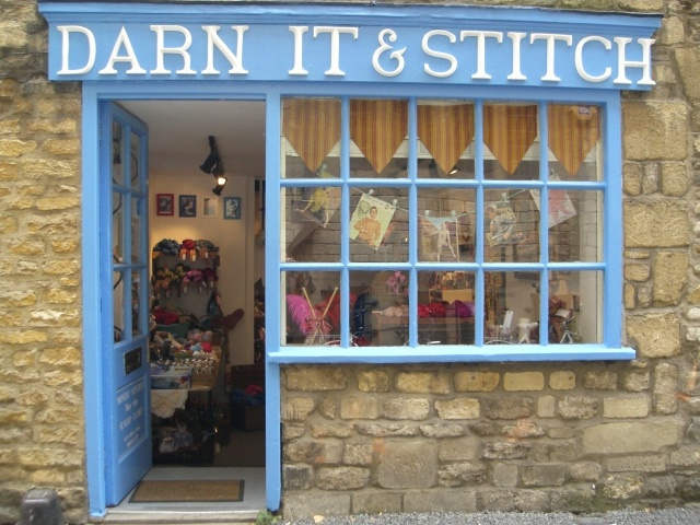 haberdashery shop by found and sewn, via Flickr