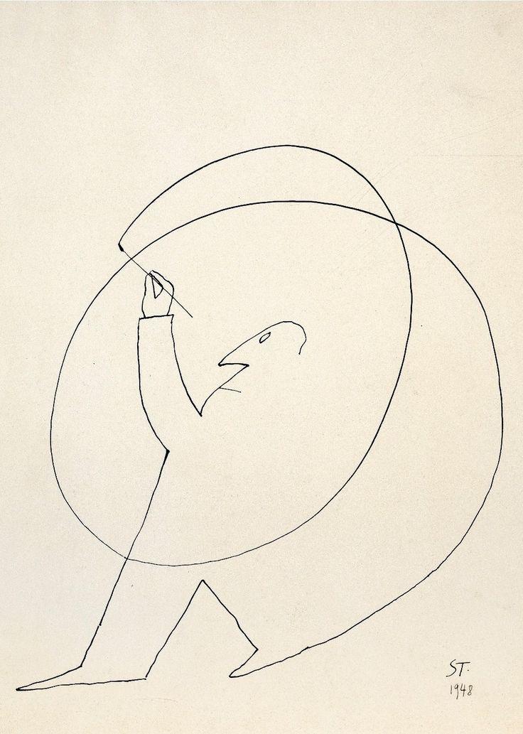 Deirdre Bair looks at the eccentric life of the cartoonist Saul Steinberg.